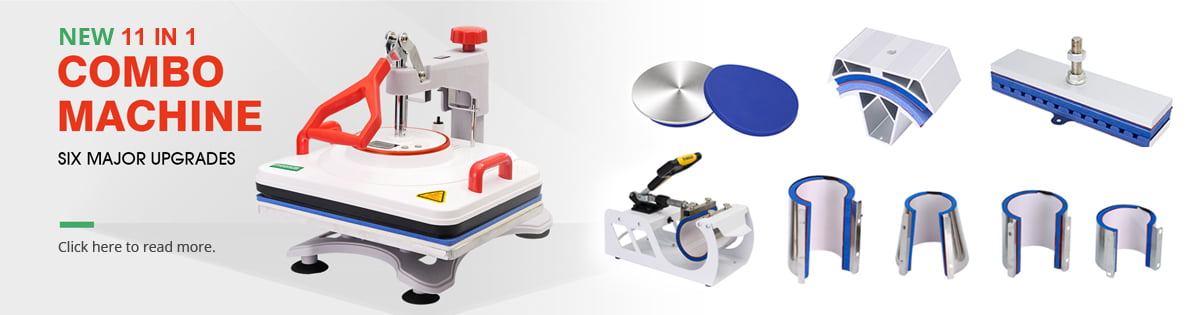 New 11 in 1 combination heat press now available at Ceramicraft
