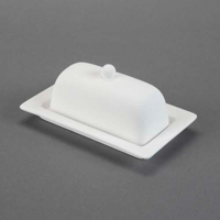 Picture of Ceramic Bisque 29206 Rimmed Butter Dish