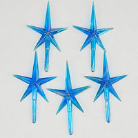 Picture of Christmas Tree Medium Star - Blue