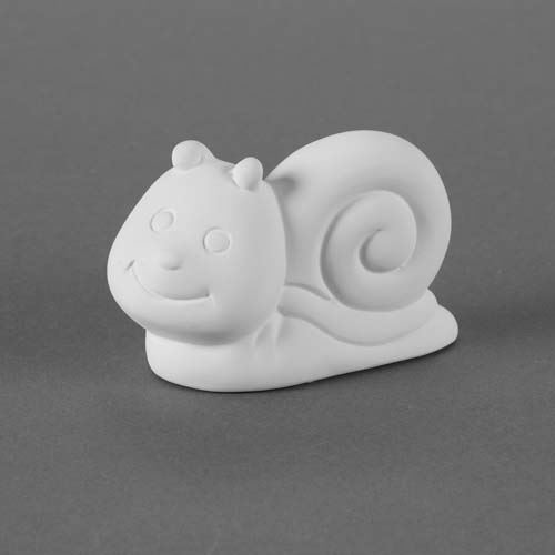 Picture of Ceramic Bisque 33420 Tiny Tot Pokey the Snail