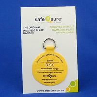 Picture of 50mm Adhesive Plate Hanger Disc Hook - Max 1kg