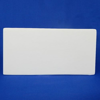 Picture of Bisque Tile 'D' Rectangle 10cm x 20cm
