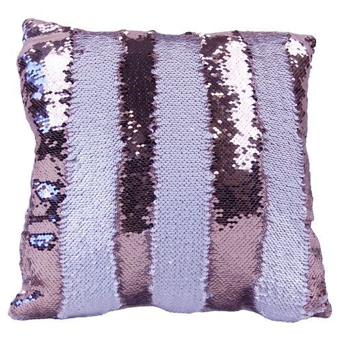 Picture of Sublimation Blank Sequin Cushion Cover - Champagne/White