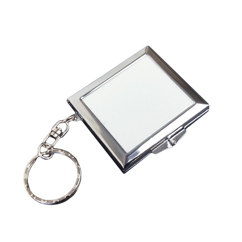 Picture of Sublimation Mirror Locket Keyring