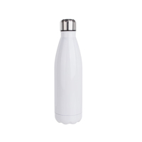Photo of Sublimation Cola Shape Stainless Steel Bottle 500ml White